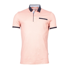New 2021 Giordano Modern Fit Polo Shirt -  Pink