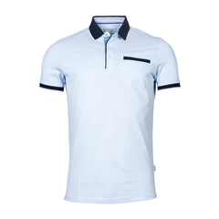 New 2021 Giordano Modern Fit Polo Shirt -  Sky Blue