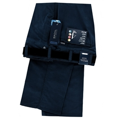 Bruhl Cotton Trouser - Dark Blue - Montana 184090 690
