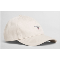 New 2021 Gant Cotton Twill Cap - Putty