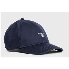 New 2021 Gant Cotton Twill Cap - Marine