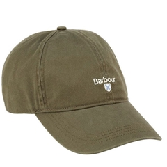 New 2021 Barbour Cotton Sports Cap - Olive