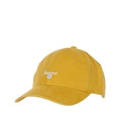 New 2021 Barbour  Cotton Sports Cap - Yellow