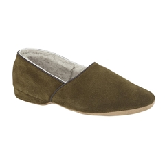 Draper Of Glastonbury Sheepskin Slipper  - Anton - Loden
