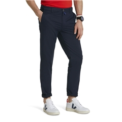 M5 By Meyer 'Fit' Cotton Fine Twill - Navy 6140 19