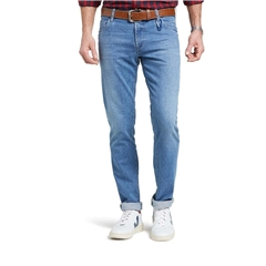 M5 By Meyer Slim Denim Super Stretch Jean - Light Blue 6247 16