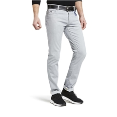 M5 By Meyer Slim Ultralight Denim Super Stretch - Grey  6213 05