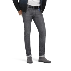 M5 By Meyer Super Slim Stretch Vintage Jeans - Grey