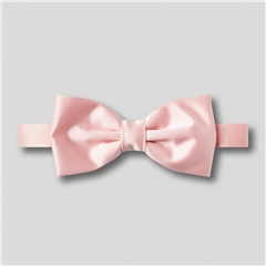 Classic Satin Ready Tied Bow Tie - Pink