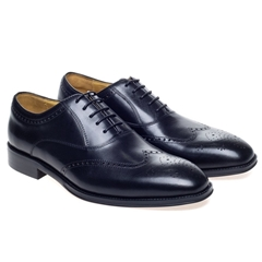 Steptronic Lace Up Shoes - Neil - Black
