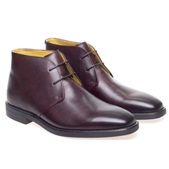 Steptronic Chukka Boots - Mitcham - Brown Waxed
