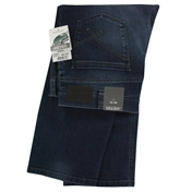 Meyer Stretch Denim Jean - Washed Blue - Durban 624 18