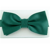 Ready Tied Bow Tie - Bottle Green