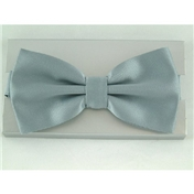 Ready Tied Bow Tie - Silver Grey