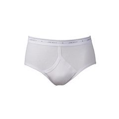 Y Front Classic Brief - White