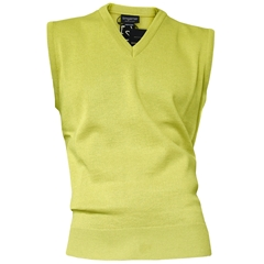Franco Ponti  Slip Over - Medium Weight - Lemon