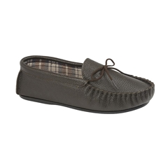 Draper Of Glastonbury Slipper -  Michael - Brown