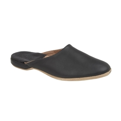 Draper Of Glastonbury Slipper - William - Black