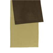 Brown and Beige Fleece Reversible Scarf