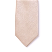 Men's Shantung Wedding Tie - Champagne