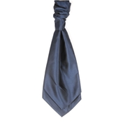 Men's Wedding Cravat- Midnight Blue