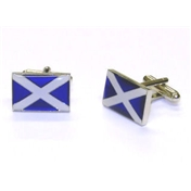 Scottish Flag Enamel Cufflinks