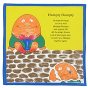 Children's Handkerchiefs - 4 Nursery Rhyme Designs