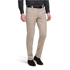 Meyer Trouser Fine Tropical Wool Mix - Beige - Roma 344 33