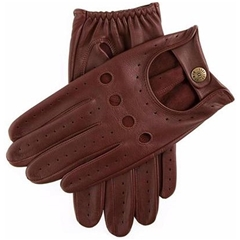 Dents Men's Leather Driving Gloves - English Tan