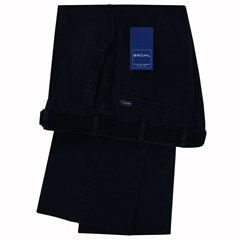 Autumn 2018 Bruhl Textured Cotton Trouser - Navy - Venice Turn Do B 183280 690