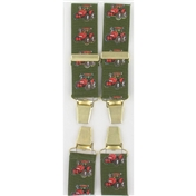 Tractor Braces - Green Brace with Tractor Pattern