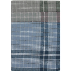 Mens EXTRA LARGE Workman  Checked Handkerchiefs - Pack Of Six