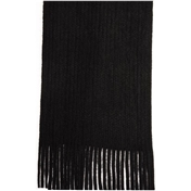 Black Acrylic Fashion Scarf