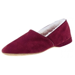 Draper Sheepskin Slipper Anton - Wine