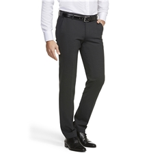 Meyer Trouser Fine Tropical Wool Mix - Charcoal - Roma 344 08