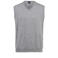 Olymp Knitwear - Olymp Merino Wool Light Slipover Grey