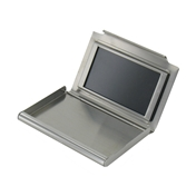 Stainless Steel Business Card Holder with Photo Frame on Front - Credit Card Holder