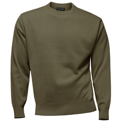 Franco Ponti Crew Neck Sweater - Brown