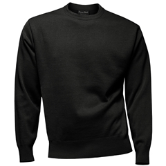 Franco Ponti Crew Neck Sweater - Charcoal