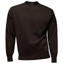 Franco Ponti Crew Neck Sweater - Chocolate