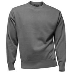 Franco Ponti Crew Neck Sweater - Grey