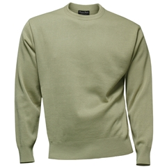 Franco Ponti Crew Neck Sweater - Oatmeal