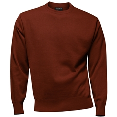Franco Ponti Crew Neck Sweater - Rust