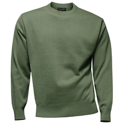 Franco Ponti Crew Neck Sweater - Sage