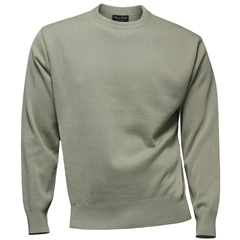 Franco Ponti Crew Neck Sweater - Tan
