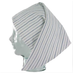 Magee Men's Stripe Nightcap - Thin Blue Stripe