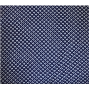 Navy and Grey Check Acrylic Fashion Scarf