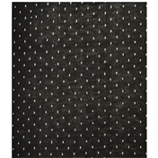 Black and Grey Spot Acrylic Fashion Scarf